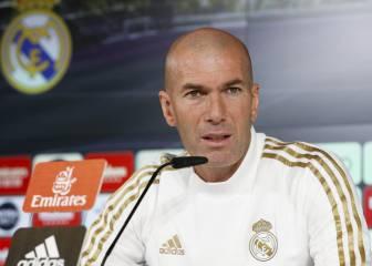 """Zidane: """"Ni hablamos de la seguridad del Clásico"""""""