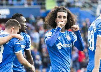 GETAFE 2-0 VALLADOLID Cucurella and Angel put EuroGeta in the Champions League   - Transgaming 1