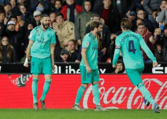 Valencia-Real Madrid Benzema is in everything   - Transgaming 1
