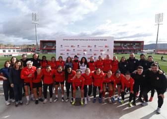 El Atleti celebrará contra el Tacón el Día de la Esclerosis Múltiple