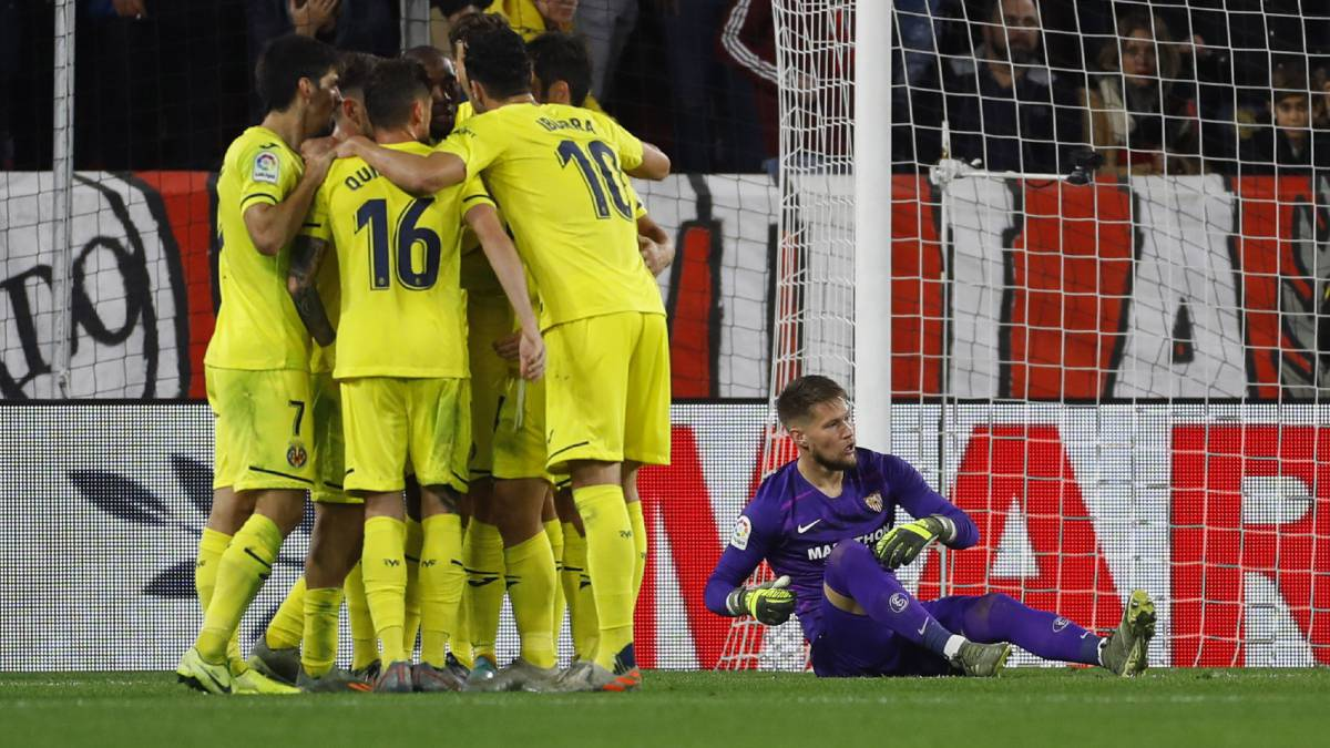 1X1-Villarreal:-Villarreal-takes-out-its-competitive-gene-with-an-imperial-defense-in-Seville