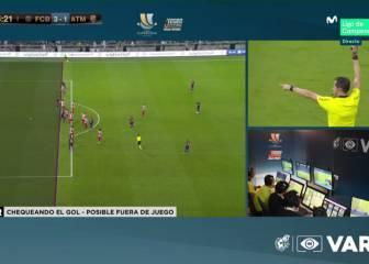Las polémicas del Barça-Atleti