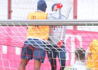 Pelea entre Boateng y Goretzka