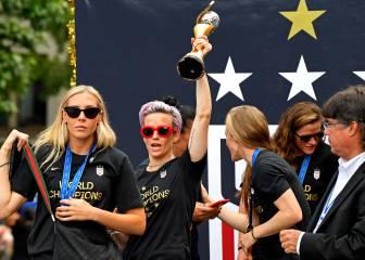 La selección masculina de Estados Unidos exige que las internacionales ganen el triple
