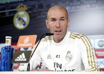 En directo: rueda de prensa de Zinedine Zidane 1