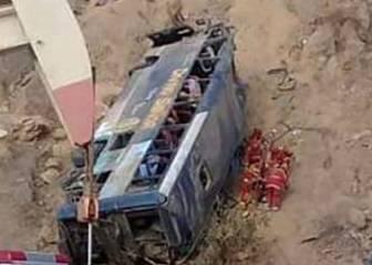 Conmoción en Ecuador: siete hinchas de Barcelona SC mueren en un accidente de bus