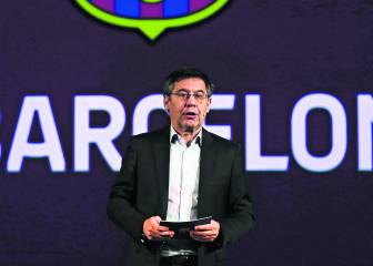 Josep Maria Bartomeu trata de calmar a una Junta indignada