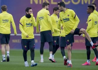Champions El coronavirus alcanza al Barça: control de temperatura al llegar a Nápoles 1