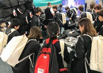 """Japón celebra llegar """"sana"""" a EE UU para la SheBelieves Cup"""