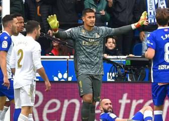 Areola, a salvar la temporada del Madrid tras 674 minutos