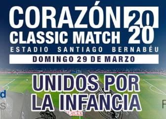 El Corazón Classic Match, aplazado por el coronavirus