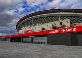 ERTE del Atlético: la plantilla se rebaja el 70% el sueldo