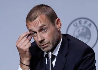 Ceferin amenaza con echar de Europa a los clubes belgas