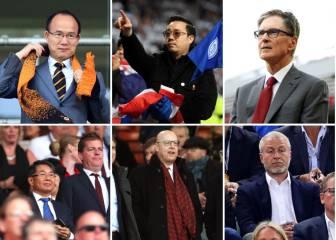 Las fortunas de los propietarios de la Premier League