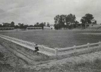 Hoy se cumplen 96 años del primer partido de fútbol jugado por el Alavés en Mendizorroza