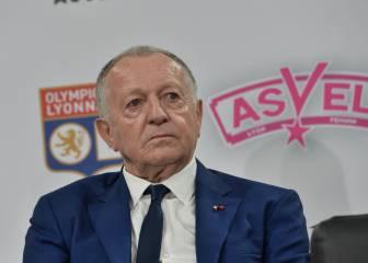 Aulas propone unos playoffs para decidir la Ligue 1