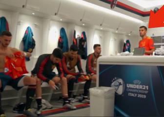 Se sentía el líder y lo dejó claro: las 2 frases de Ceballos en pleno vestuario en el Sub-21 que ganó España