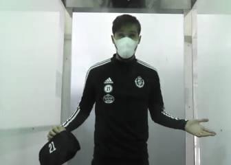 Parece ciencia-ficción: las cabinas del Valladolid para 'desinfectar' a sus jugadores