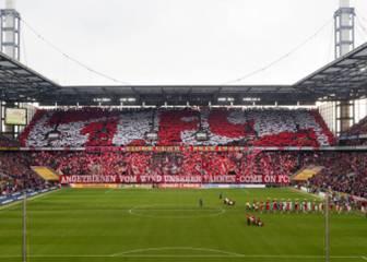 Colonia exhibe pancartas contra la reanudación de la Bundesliga
