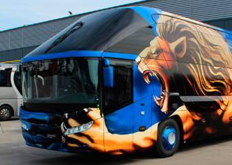 Los autobuses más impresionantes de los equipos de fútbol