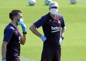 El Barça descarta los drones en los entrenamientos