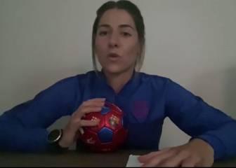 "Vicky Losada, capitana del Barça y ""profesora"" de la UEFA"