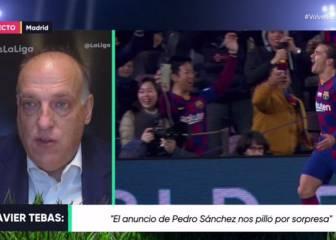 """Tebas: """"Nuestra ilusión es volver el 11 de junio con el Sevilla-Betis"""" 1"""