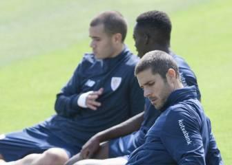 """Kike Sola: """"Cuando fiché por el Athletic sabía que me iba a pegar con Aduriz"""""""