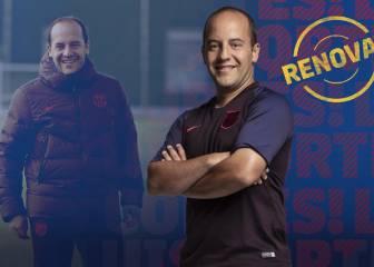 Lluís Cortes renueva con el Barça por una temporada más