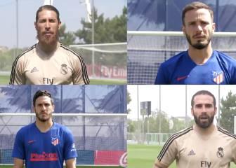 Real Madrid y Atlético se unen en la campaña solidaria 'MadridxMadrid'