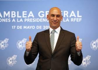 Rubiales fija el 17 de agosto para ser reelegido en la RFEF 1