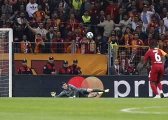 Courtois es simpatizante del Galatasaray