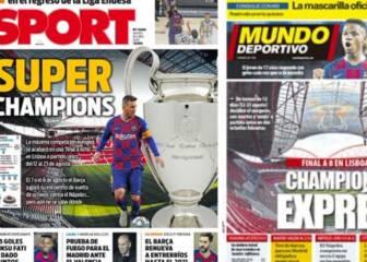 La nueva Champions impacta en Barcelona 1