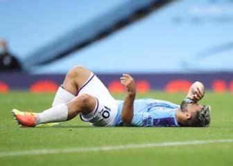 El Manchester City golea pero podría perder al Kun Agüero