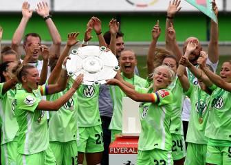 El Wolfsburgo femenino, campeón de Alemania