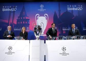 El sorteo de cuartos de la Champions será el 10 de julio 1