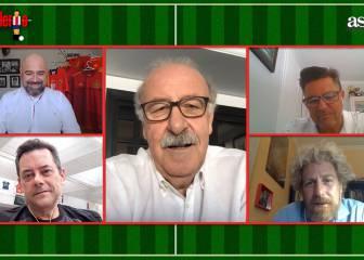 Del Bosque confiesa de quién fue la idea del cabezazo de Puyol