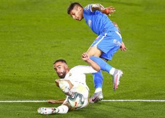 Real Madrid-Getafe en imágenes