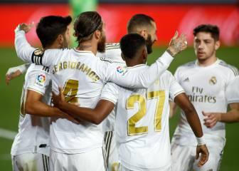 Aprobados y suspensos del Real Madrid: Ramos paga el rescate