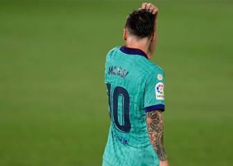 Mensaje de calma con Messi