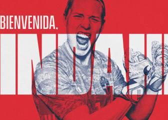 La portera internacional Lindahl ficha por el Atlético por dos años