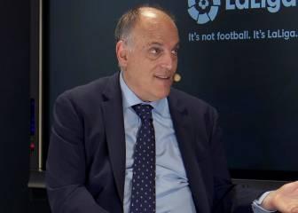 """Tebas critica la llamada de Florentino a Rubiales por el VAR: """"Fue un antes y un después"""" 1"""