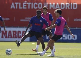 Llorente y João Félix, listos para el partido contra la Real Sociedad
