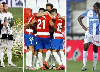 Así queda el cuadro de honor de Primera: Champions, Europa League, descensos...