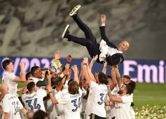 Zidane marca una época