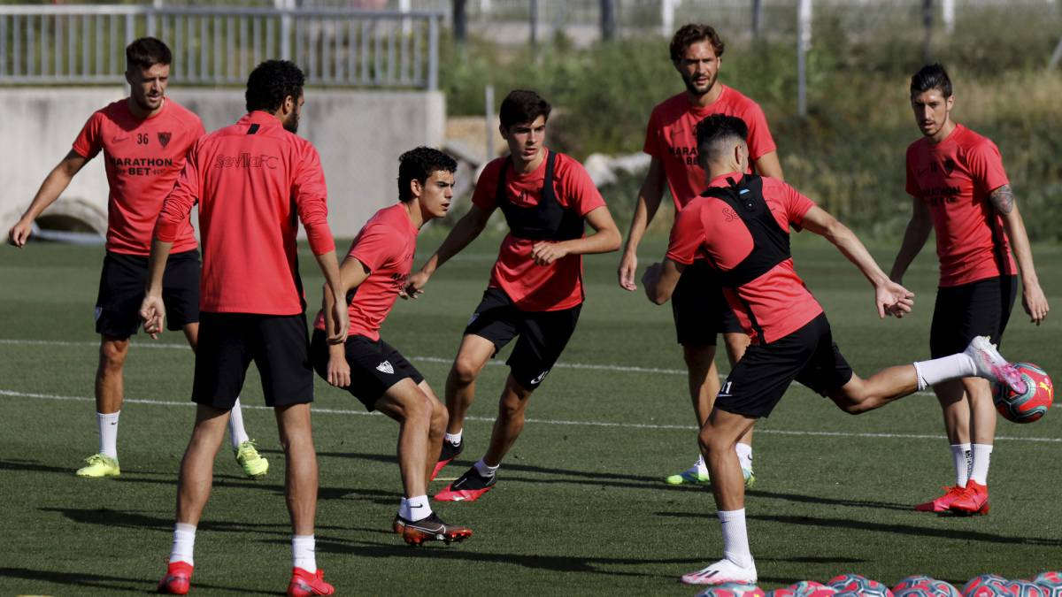 Sevilla-have-no-more-positives-and-return-to-training