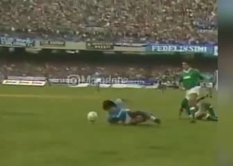 El vídeo por el cual sigue habiendo gente que pone por encima a Maradona sobre Messi