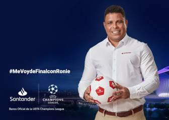 Vive la final de la Uefa Champions League junto a ?El Fenómeno?