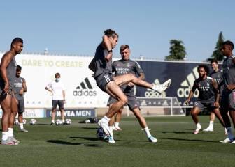 Zidane deja a Bale y James fuera de la lista ante el City
