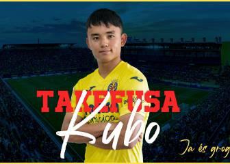 Oficial: Kubo, al Villarreal